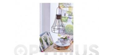 Iluminacion vivienda - LAMPARA DECORATIVA SOLAR LED DORTMUND