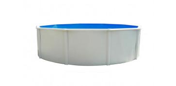 Piscinas, accesorios y complementos - PISCINA CIRCULAR CON COLUMNAS 350 X 120 CM SK