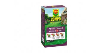 Plantas y cuidado de las plantas - ABONO CESPED ACCION 4 EN 1 3 KG