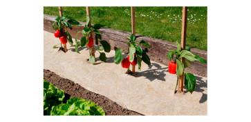 Plantas y cuidado de las plantas - MALLA ANTIHIERBAS BIODEGRADABLEFLAXHEMP 500 0,49X3 MT