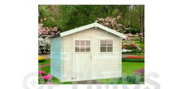 Ordenacion del jardin - CASETA MADERA AKRO 2260 X 260 X 217 CM