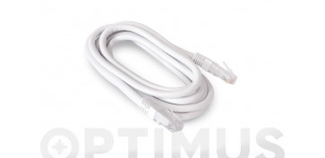 Cables - CABLE ETHERNET CAT6 CU RJ45-RJ45BLANCO 2M