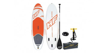 Camping, playa y aire libre - TABLA PADDLE SURF INFABLE AQUA JOURNEY274 X 76 X 12 CM CON REMO