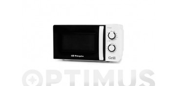 Electrodomesticos de cocina - HORNO MICROONDAS CON GRILLMIG-2130 20 L BLANCO