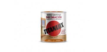 Proteccion y tratamiento para madera - BARNIZ SINTETICO  BRILLANTE 750 ML ROBLE