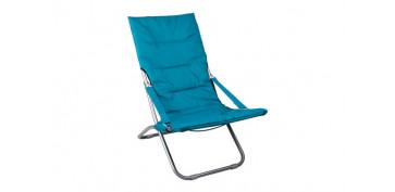 Camping, playa y aire libre - SILLA RELAX PLEGABLEAZUL