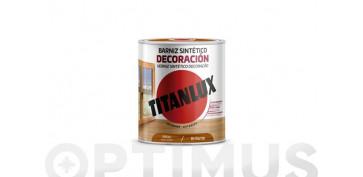 Proteccion y tratamiento para madera - BARNIZ TINTE BRILLO PARA MADERA250 ML  NOGAL