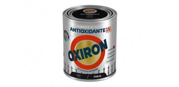 ESMALTE AGUA OXIRON FORJA750 ML NEGRO