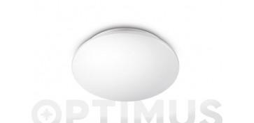 Iluminacion vivienda - PLAFON COMPACTO LED MOIRE 4000K - 1100LMØ 26,5 X 7