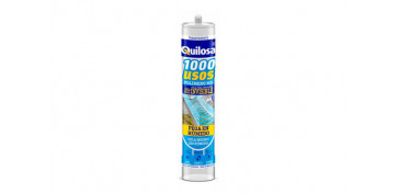 ADHESIVO SELLADOR MS 1000 USOS TRANSPARENTE280 ML