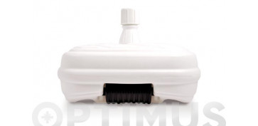 PIE PARASOL RELLENABLE CON RUEDAS 48 LØ 33-48 MM BLANCO