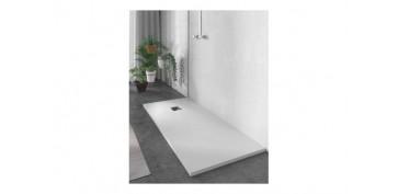 Mobiliario de baño - PLATO DE DUCHA DE RESINA BLANCO120 X 70 CM