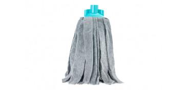 Utiles de limpieza - FREGONA MICROFIBRA TURQUESA