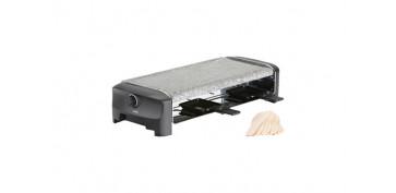 Electrodomesticos de cocina - RACLETTE PIEDRA 8 STONE & GRILL PARTY 1300 W 42 X 21 CM