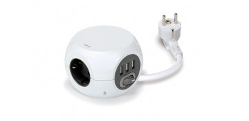 Cables - BASE MULTIPLE COMBI BALL 3T+3USB-1,4 METROS