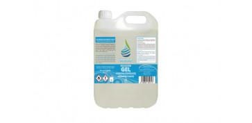Productos de limpieza - SOLUCION GEL HIDROALCOHOLICO 5 L