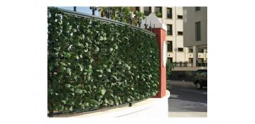 Cercado y ocultacion jardin - SETO ARTIFICIAL HIEDRA 1,5 X 3 M