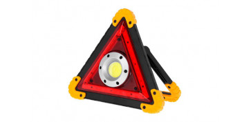 Linternas - LINTERNA LED PORTATIL COB RECARGABLE TRIANGULO