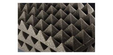 Materiales de construccion - ESPUMA ACUSTICA PIRAMIDE 8 UDS 45 X 45 X 4.3 CM