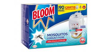Exterminador de insectos - BLOOM ELÉCTRICO MOSQUITOS COMÚN Y TIGRE 2 RECAMBIOS INCLUIDOS