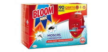 Exterminador de insectos - BLOOM ELÉCTRICO MOSCAS Y MOSQUITOS 2 RECAMBIOS INCLUIDOS