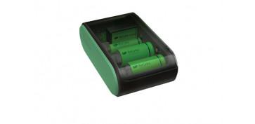 Pilas y baterías - CARGADOR PILAS UNIVERSAL USB AA/AAA/C/D/9V