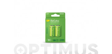 Pilas y baterías - PILA RECARGABLE RECYKO (BL.2) LR14-C 3000MAH