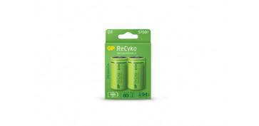 Pilas y baterías - PILA RECARGABLE RECYKO (BL.2) LR20-D 5700MAH