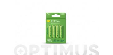 Pilas y baterías - PILA RECARGABLE RECYKO (BL.4) LR6 AA 1300MAH