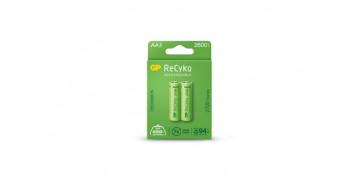Pilas y baterías - PILA RECARGABLE RECYKO (BL.2) LR6 AA 2600MAH