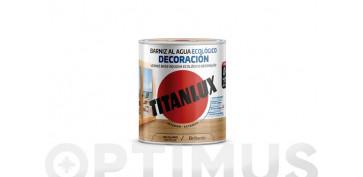Proteccion y tratamiento para madera - BARNIZ ECOLOGICO INCOLORO 750 ML BRILLANTE
