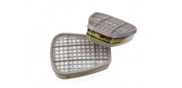 Proteccion de la cabeza - FILTRO ABEK1 PARA MASCARA (4 PARES) 6059