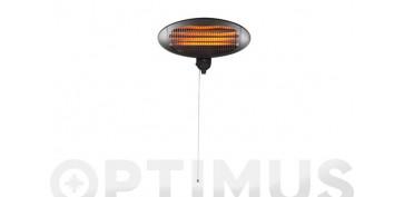 Calefacción gas, parafina y etanol - ESTUFA ELECTRICA PARED TUBO QUARZO 650/1350/2000 W