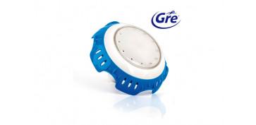 Piscinas, accesorios y complementos - FOCO PROYECTOR LED BLANCO 16 CM DIÁMETRO X 10 CM FONDO