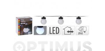 Iluminacion vivienda - GUIRNALDA LED 10 LAMPARAS BLANCAS