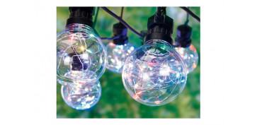 Iluminacion vivienda - GUIRNALDA LED 10 LAMPARAS