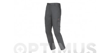 PANTALON EASYSTRETCH T. L GRIS