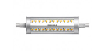 LAMPARA LED LINEAL REGULABLE 118MM R7S 120W BLANCA