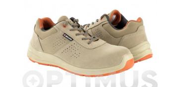 Calzado de seguridad - ZAPATO FLEX S1P SRC BEIGE T 45