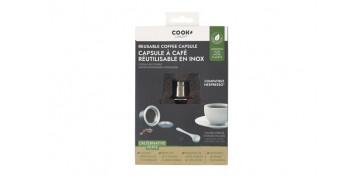 Novedades - CAPSULA CAFE NESPRESSO REUTILIZABLE ACERO