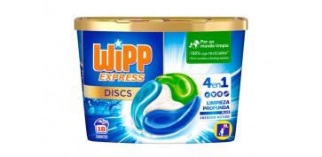 Novedades - DETERGENTE WIPP EXPRESS 4EN1 18 CAPSULAS