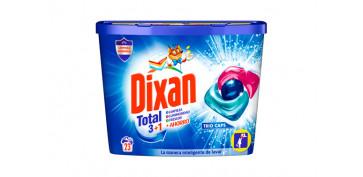 Productos de limpieza - DETERGENTE DIXAN TRIO CAPS 23 CAPSULAS