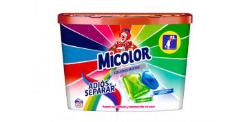Novedades - DETERGENTE MICOLOR ADIOS SEPARAR 22 CAPSULAS