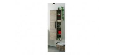 Mobiliario de baño - COLUMNA COLGAR ATHENA 1P + ESTANTES