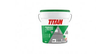 Pintura para paredes, techos y suelo - PINTURA ACRILICA INTERIOR T-3 15 L BLANCO MATE