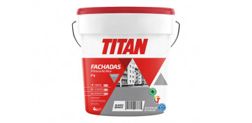 Pintura para paredes, techos y suelo - PINTURA ACRILICA FACHADAS F-4 4 L BLANCO MATE