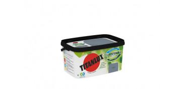Pintura para paredes, techos y suelo - PINTURA PLASTICA INT-EXT. BIOSOSTENIBLE 4 L GRIS CUARZO