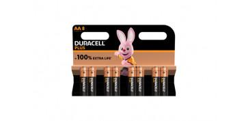 Pilas y baterías - PILA ALCALINA PLUS POWER LR06-AA BL.8