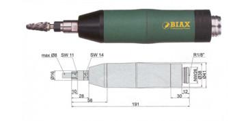 Amoladoras neumáticas - AMOLADORA BIAX SRD 8-20/2 Y SRH 8-20/2