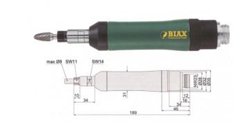 Amoladoras neumáticas - AMOLADORAS BIAX RECTAS SARD 830 Y SARH 830
